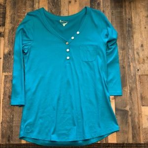 Brand new long sleeve Lilly P Essie top